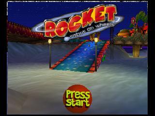 Rocket - Robot on Wheels